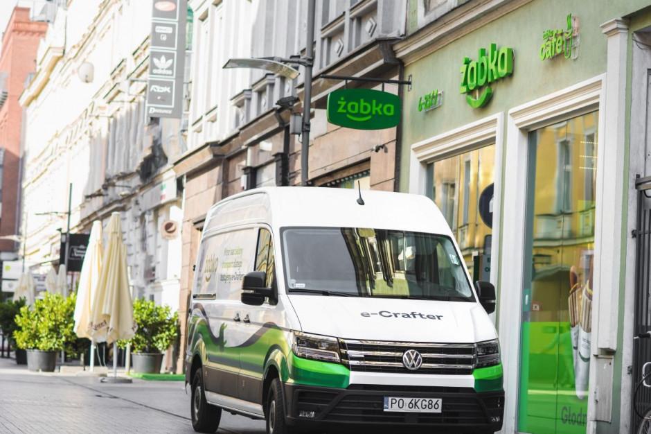 Żabka Polska testuje dostawczy samochód elektryczny
