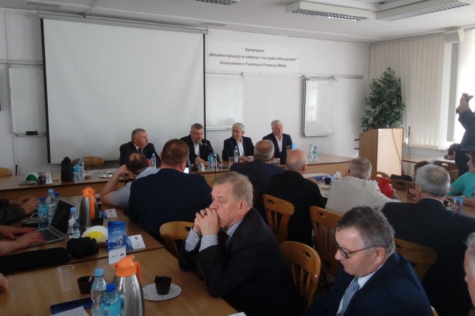 Mleczarze spotkali się z ministrem rolnictwa