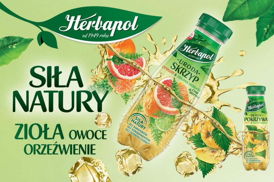 """Napoje ziołowe """"Uroda"""" i """"Detox"""" - orzeźwiające nowości od marki Herbapol"""