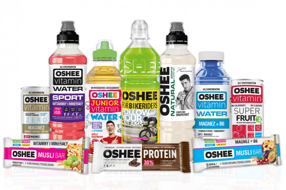 Od lipca napoje Oshee dostępne w salonikach prasowych Media Star