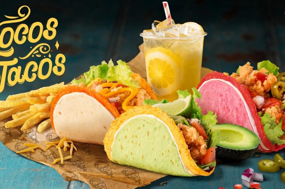 KFC wprowadza nowość na lato - Locos Tacos