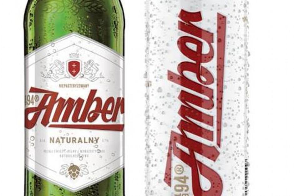Piwa Amber Naturalny i Amber Chmielowy zyskały nowe opakowania
