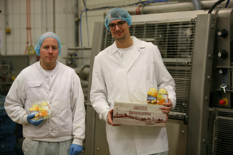 Traysealer Ishida zwiększa efektywność producji pyz ziemniaczanych (schładzanych)