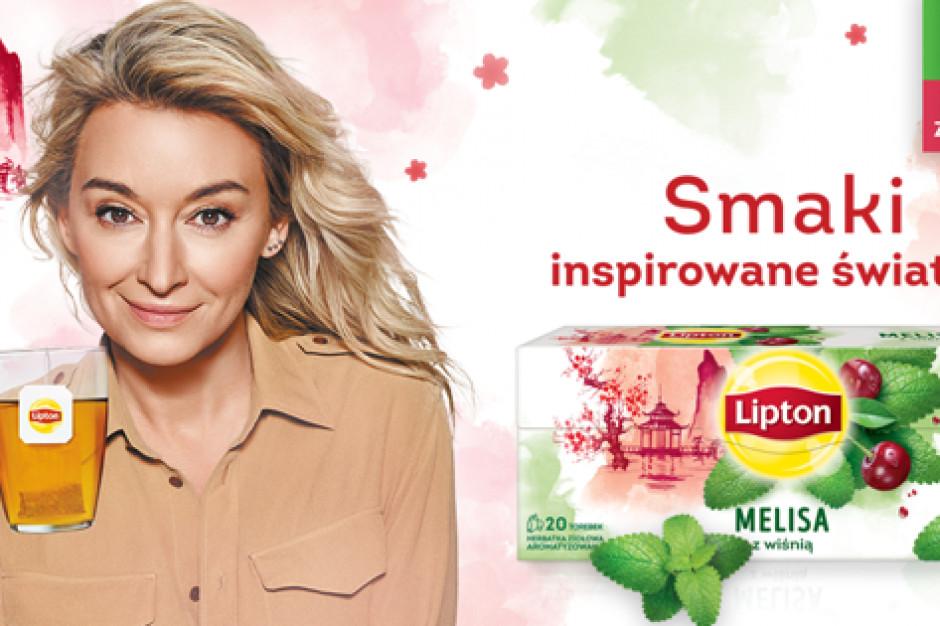 Martyna Wojciechowska w reklamach Zioła Świata Lipton