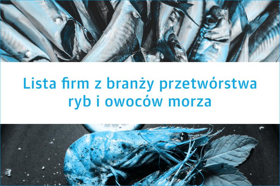 Lista firm z branży przetwórstwa ryb i owoców morza - edycja 2019