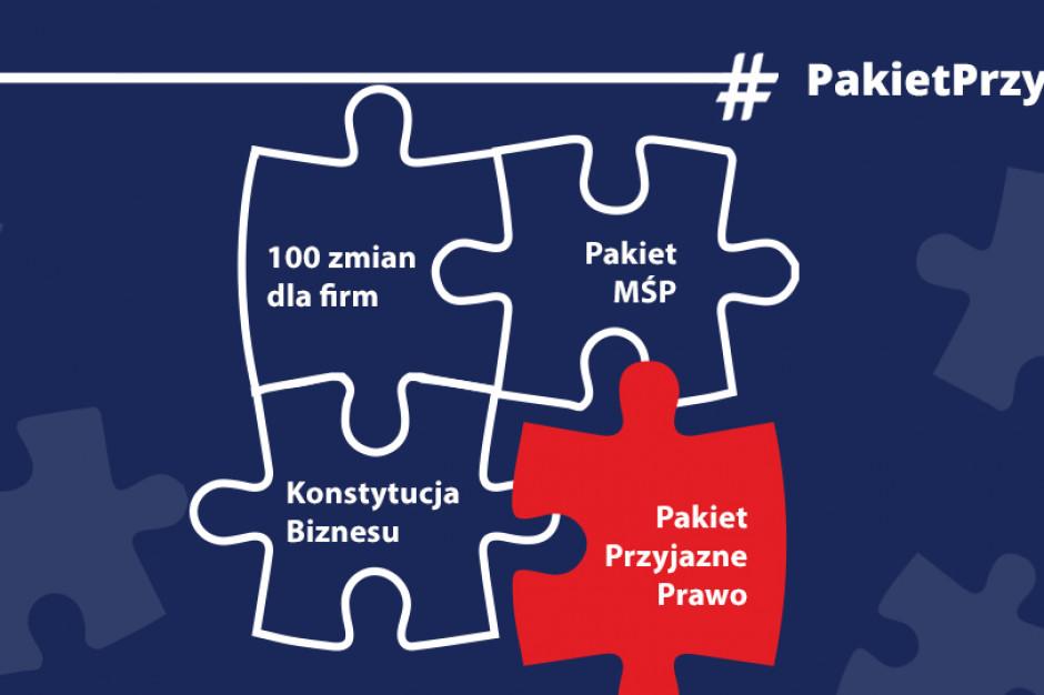 MPiT: Parlament uchwalił Pakiet Przyjazne Prawo