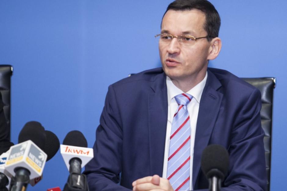 Morawiecki: Poziom bezrobocia osiąga wynik nienotowany od początków transformacji