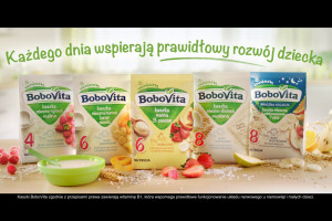 BoboVita ruszyła z kampanią kaszek dla dzieci