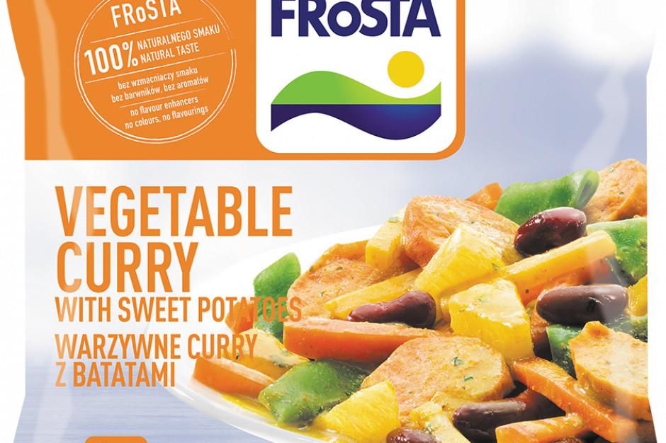 Nowe danie od FRoSTY - Warzywne Curry z Batatami