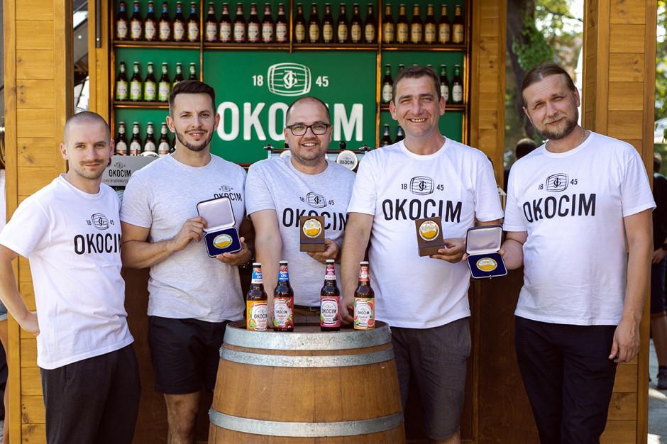 Cztery piwa Okocim Radler nagrodzone na Chmielakach 2019
