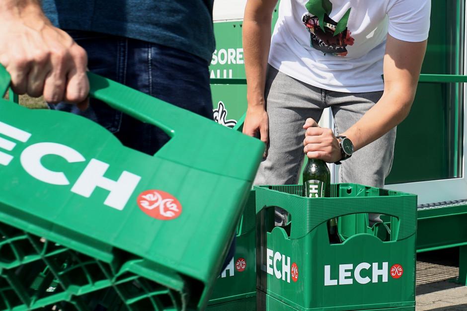 Kompania Piwowarska otworzyła w Poznaniu punkt skupu wszystkich butelek zwrotnych po piwie