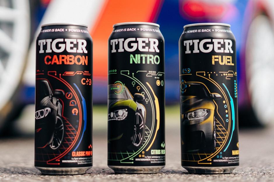 Nowa linia TIGER 500 ml - w większych pojemnościach