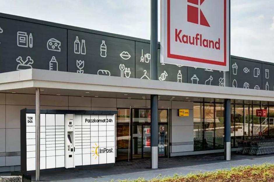 Paczkomaty InPost staną przy sklepach Kaufland