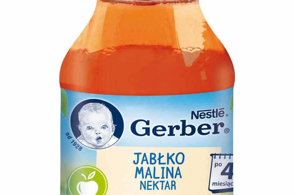 Nowość od Gerber - maliny dla najmłodszych