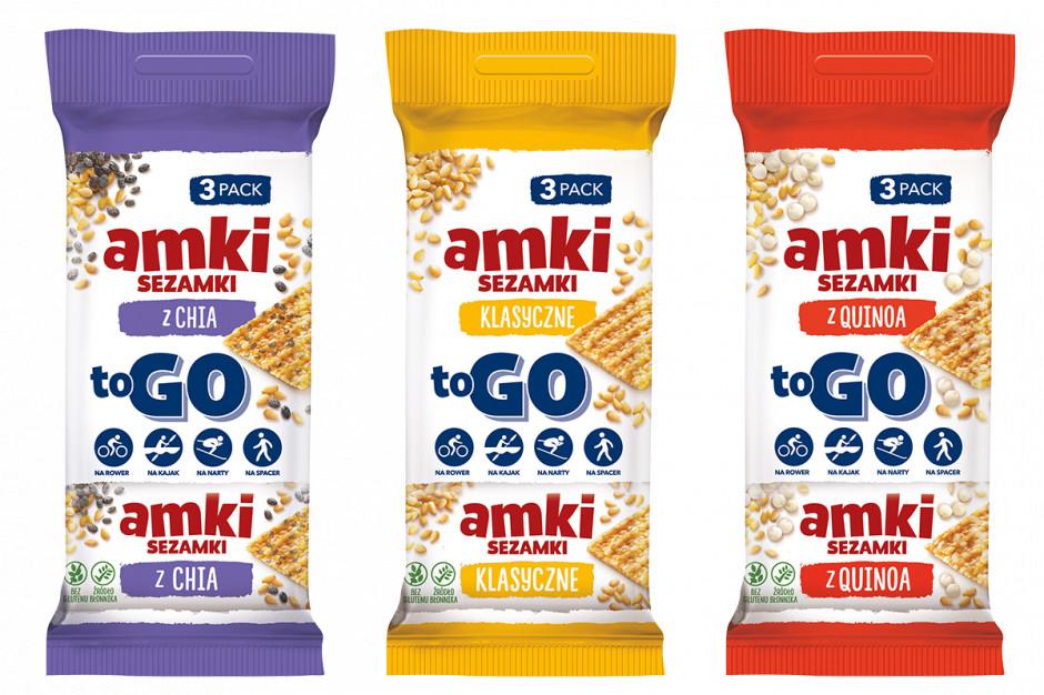 Unitop widzi potencjał w kategorii sezamków. Chce rozwijać markę Amki TO GO