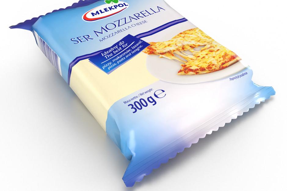 Mlekpol wprowadza nowe gramatury sera Mozzarella