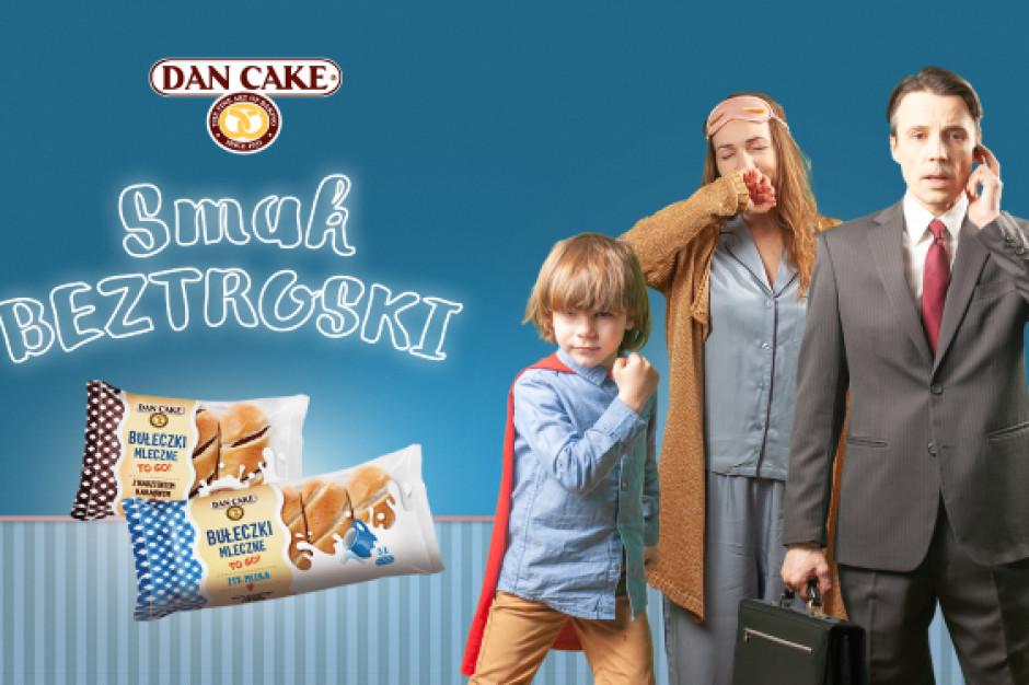 Dan Cake promuje nową linię produktową bułeczek mlecznych