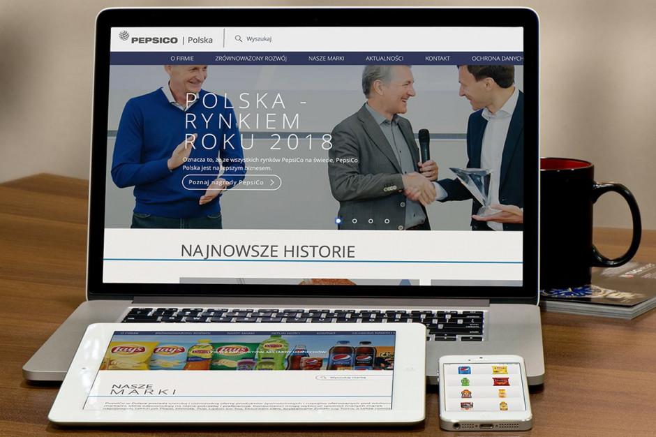 PepsiCo ma nową witrynę internetową