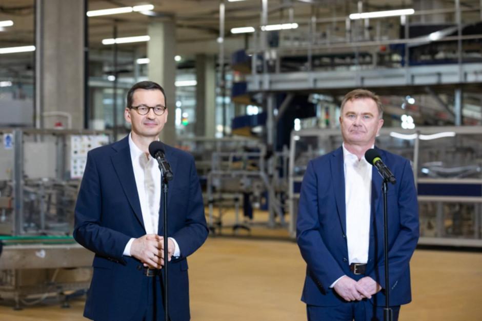 Premier odwiedził zakład Agros Nova i pogratulował Krzysztofowi Pawińskiemu (wideo)