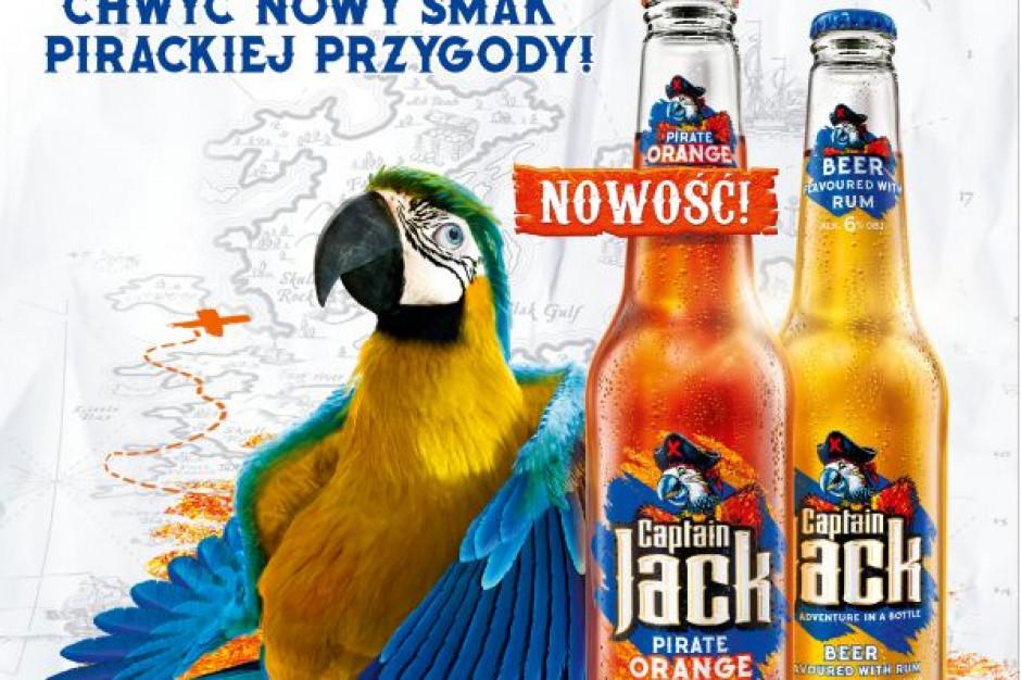 Kompania Piwowarska wprowadziła na rynek nowość - Captain Jack Pirate Orange