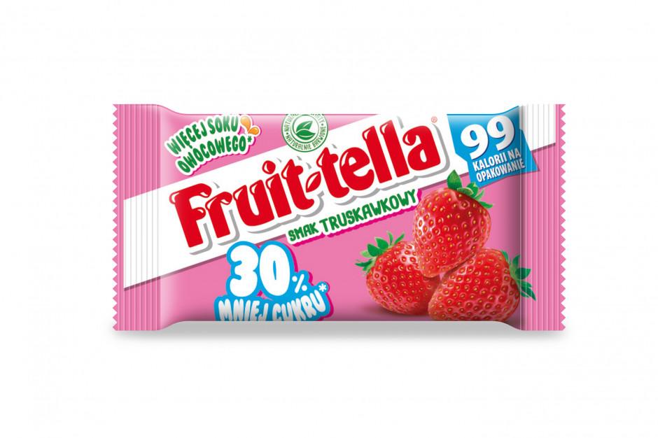 Fruittella o obniżonej zawartości cukru - najnowsza propozycja Perfetti van Melle