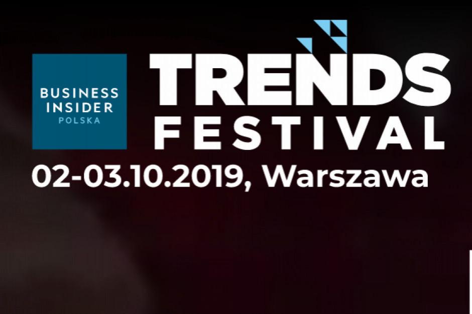 Ponad 120 ekspertów z całego świata wystąpi na Business Insider TRENDS FESTIVAL