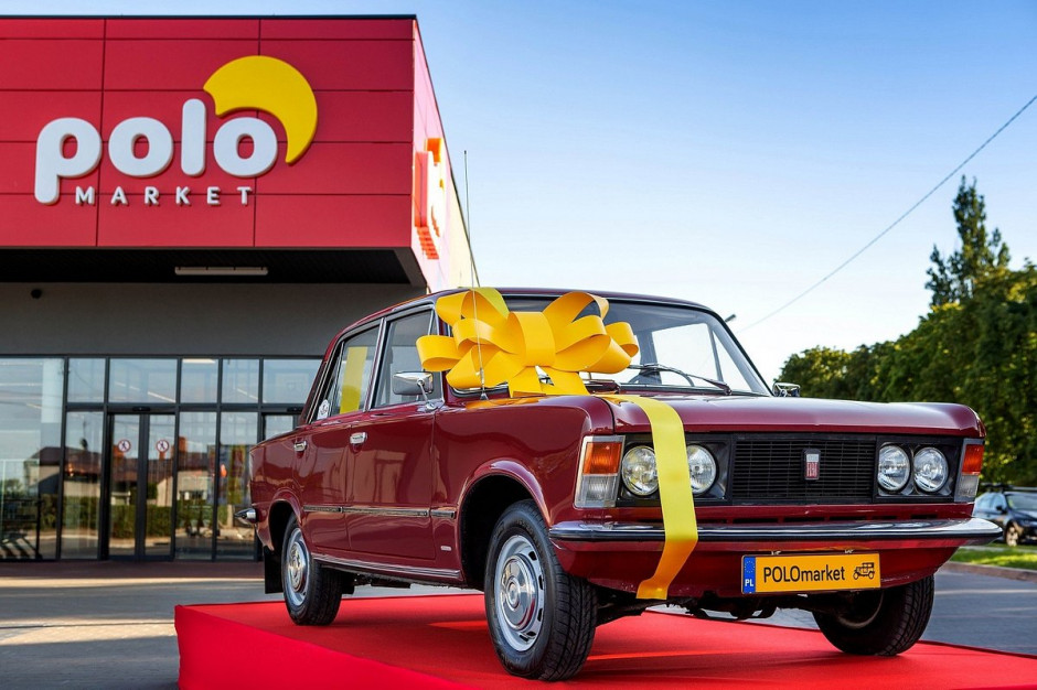 Zabytkowy Fiat 125p do wygrania w loterii urodzinowej POLOmarket