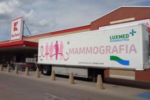 Kaufland zaprasza do kolejnych miast na darmową mammografię