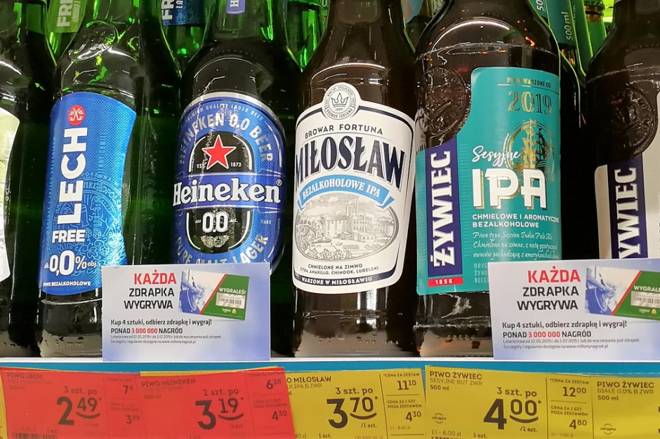 Analiza rynku piwa: W wakacje ceny poszybowały w górę