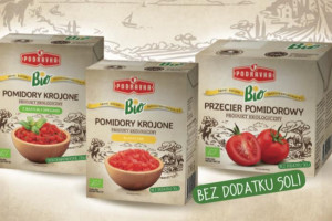 Trzy produkty BIO z pomidorami od Podravki