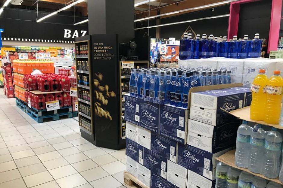 Polska marka wody mineralnej na hiszpańskich półkach