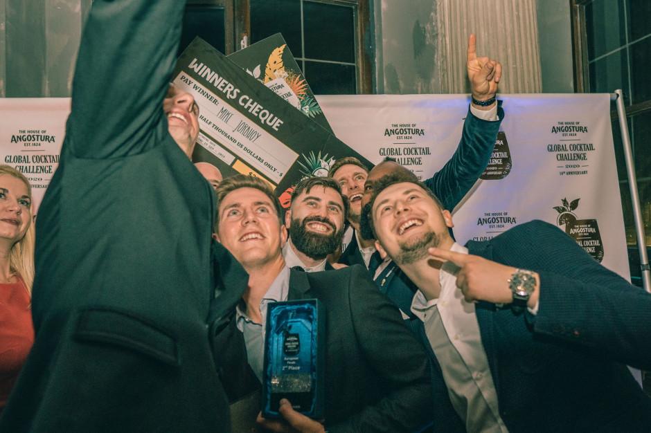 Mike Jordhoy z Francji triumfuje na międzynarodowym konkursie barmańskim w Krakowie