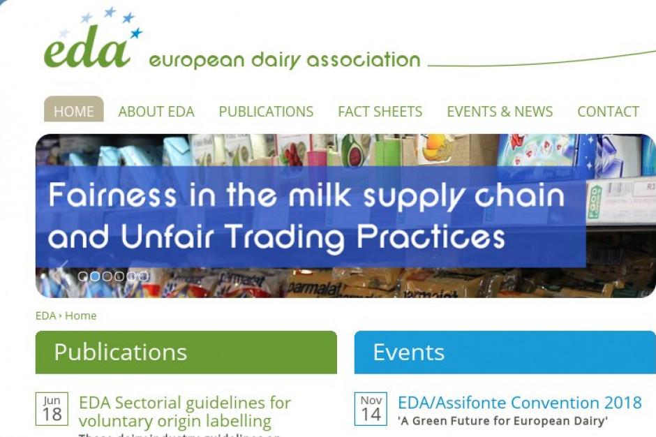 Organizacje mleczarskie wybrały polskich kandydatów do zarządu EDA