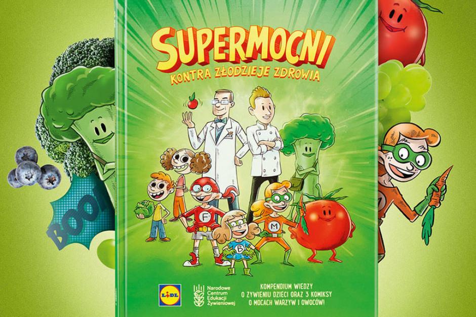 Lidl wydał książkę o żywieniu dzieci