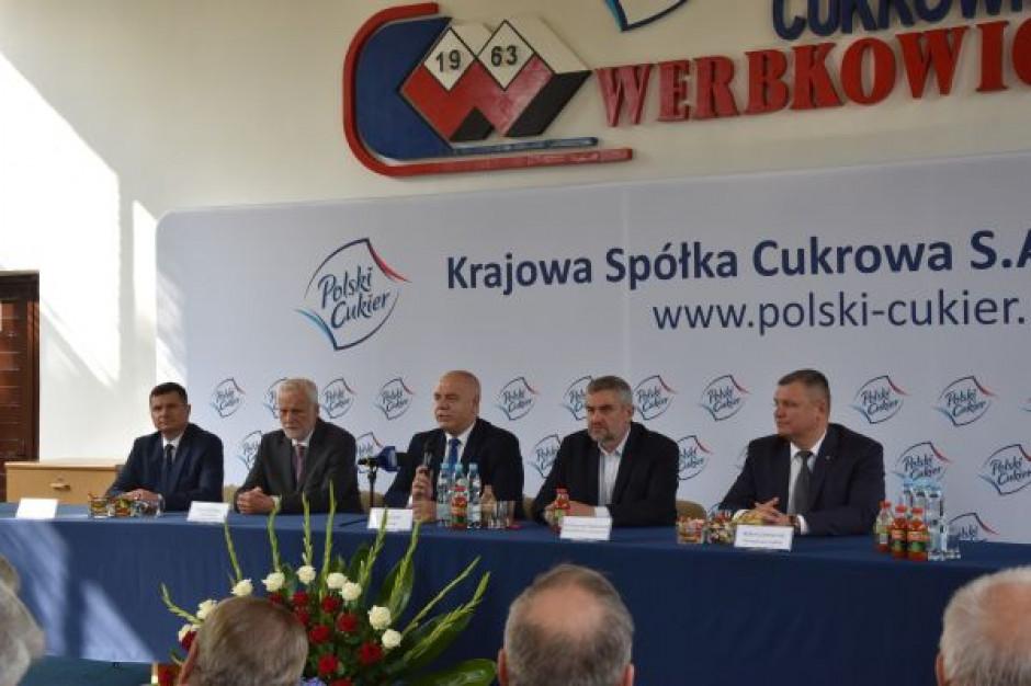 Holding Krajowa Grupa Spożywcza ma powstać na bazie Krajowej Spółki Cukrowej