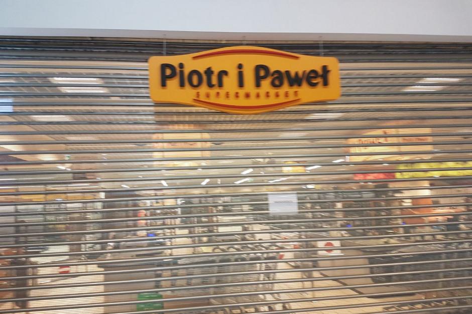 Kolejny sklep Piotra i Pawła został zamknięty. Sieć skurczyła się do 67 placówek