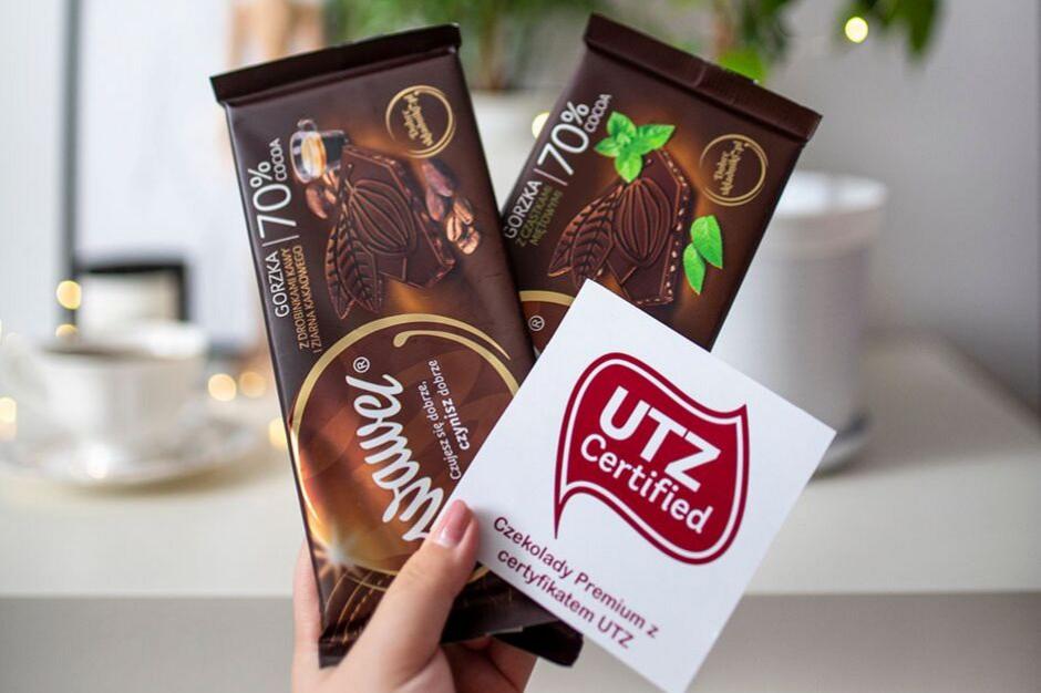 Wawel uzyskał certyfikat UTZ dla swoich czekolad premium