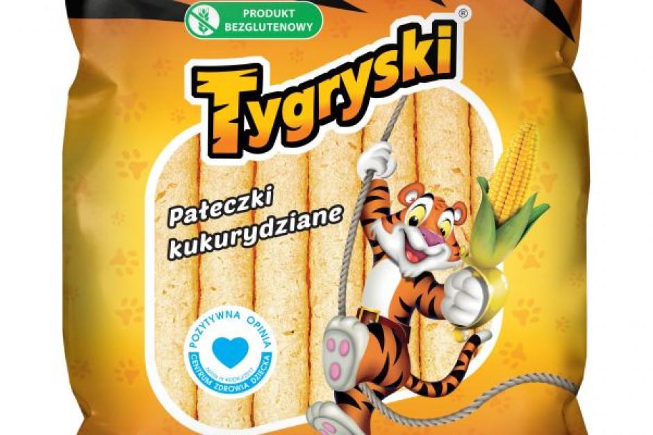 Marka chrupek Tygryski z akcją promocyjną – lunchbox za 4 produkty