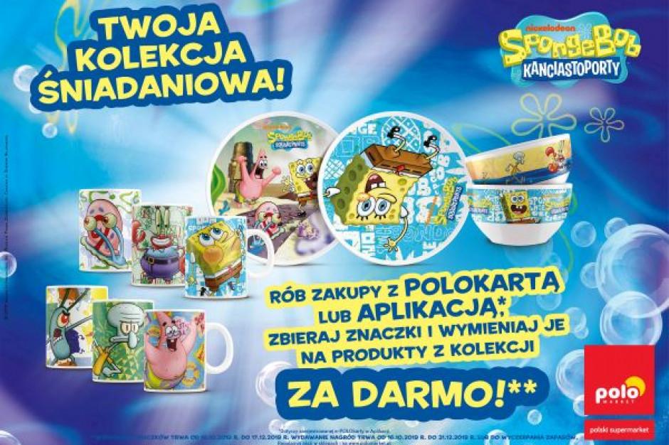 SpongeBob w POLOmarkecie - kolejna akcja lojalnościowa sieci