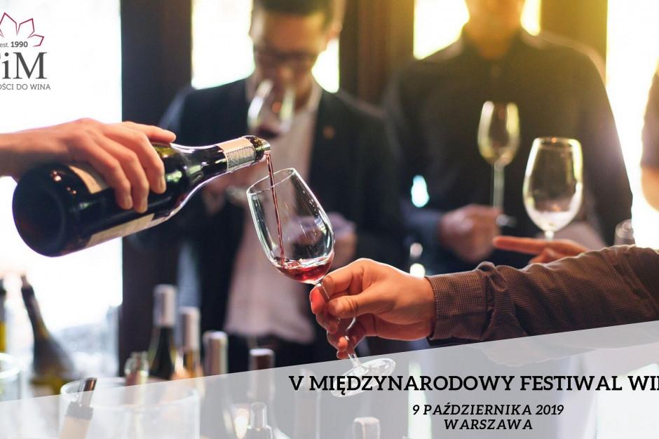 W Warszawie trwa V Międzynarodowy Festiwal Wina