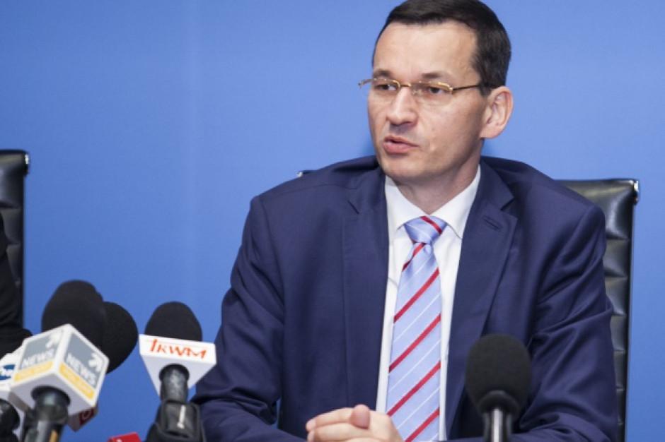 Morawiecki: chcemy obudzić w polskich firmach apetyt na międzynarodowe rynki