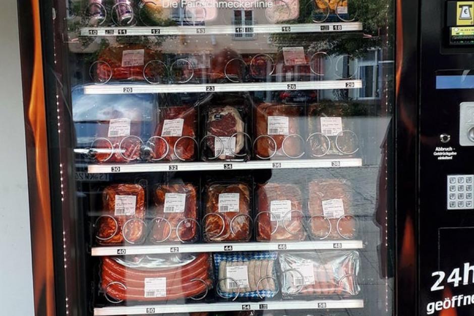 Niemcy: Rośnie popularność automatów vendingowych z mięsem