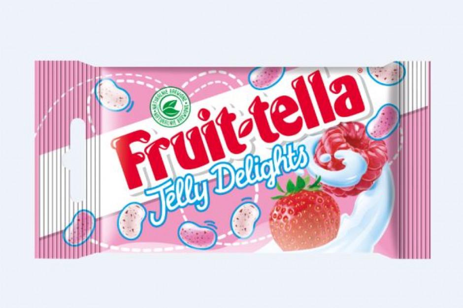 Marka Fruittella  wprowadza nowość - żelki Jelly Delights