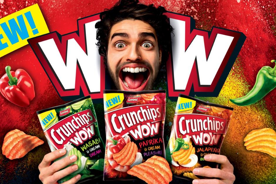 Wystartowała kampania nowych Crunchips WOW