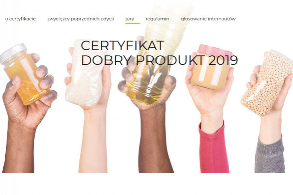 Certyfikat Dobry Produkt 2019. Zagłosuj!