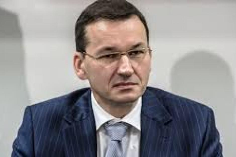 Morawiecki: Umowa ws. brexitu dobra dla polskich przedsiębiorców