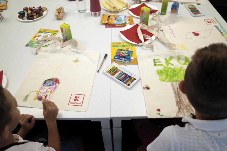 Kaufland prowadzi dla dzieci warsztaty na temat ekologii i dbania o środowisko