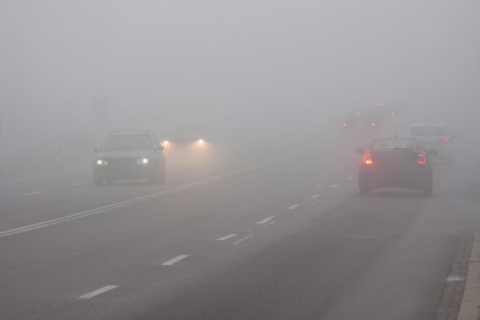 IMGW ostrzega przed silnymi mgłami