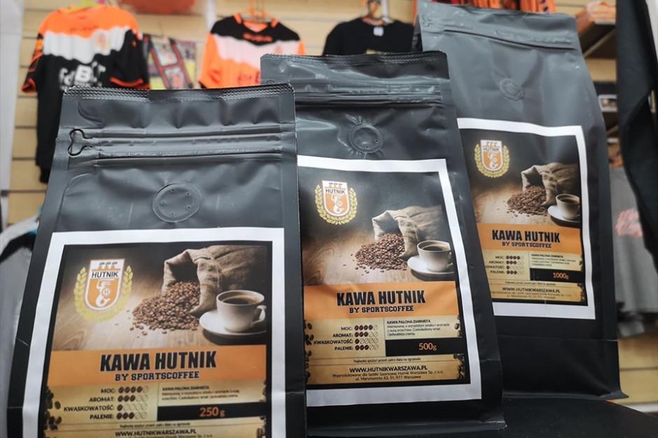 Hutnik Warszawa oferuje własną kawę