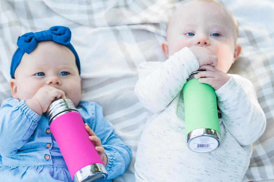 Stalowe butelki dla dzieci bezpieczniejsze niż szklane?